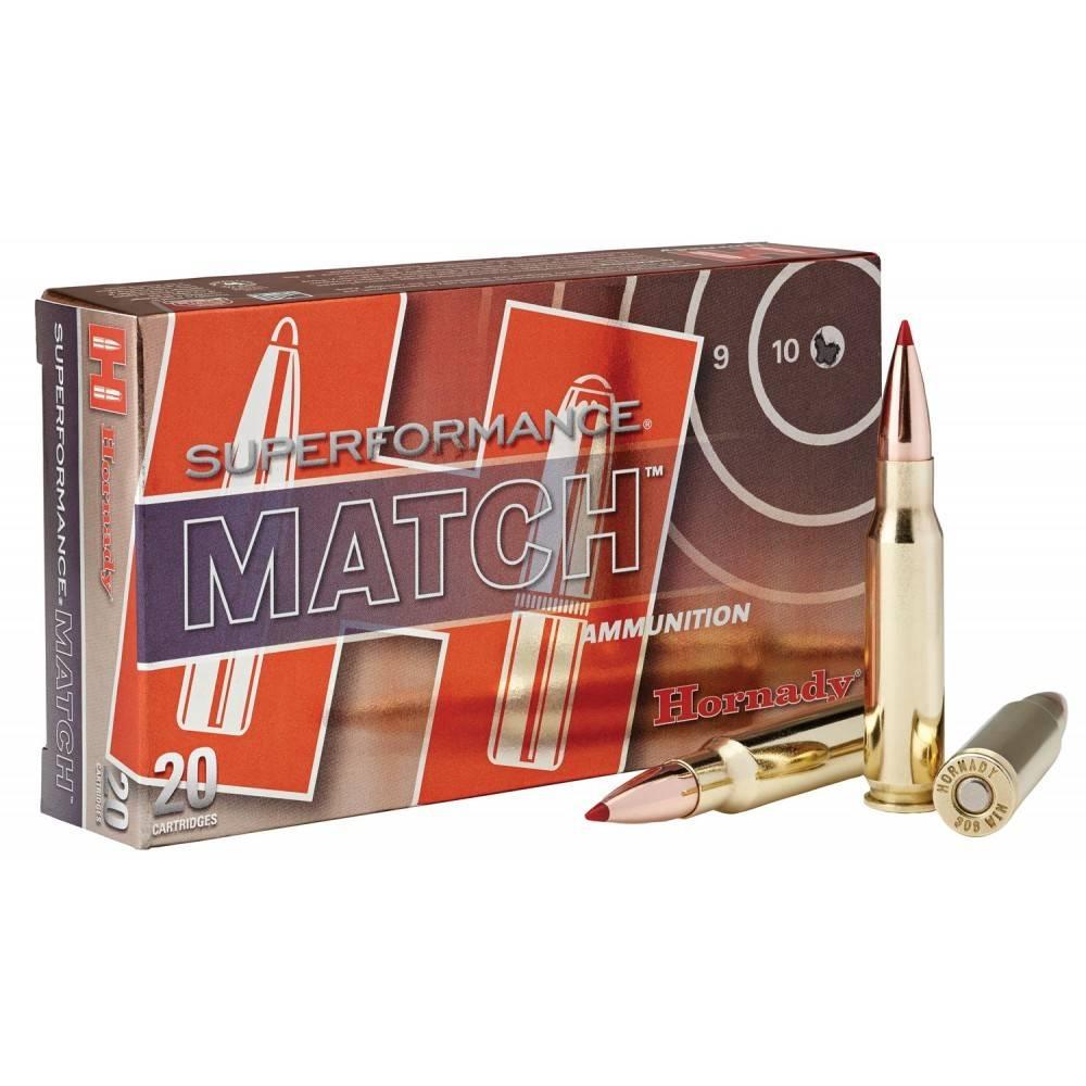 Hornady Hornady 308 WIN Match 178 GR BTHP Match SPF