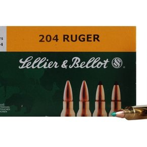 Sellier & Bellot Sellier & Bellot 204 Ruger PTS 32 Grain Box of 20