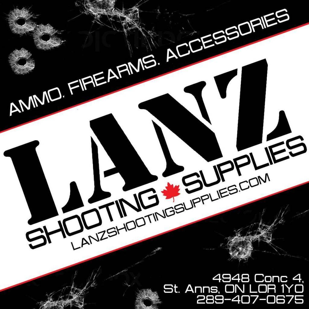 Lanz Lanz T-Shirt Black 5.56 Large
