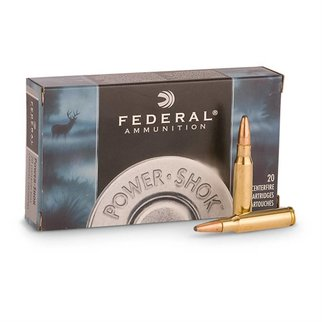 Federal Ammunition Federal Power-Shok 7mm Remington Magnum 175 Grain Soft Point Box of 20