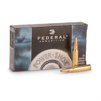 Federal Ammunition Federal Power-Shok 308 Winchester 150 Grain Soft Point Box of 20