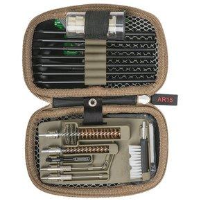 Real Avid Real Avid Gun Boss - Compact AR15 Rod Cleaning Kit