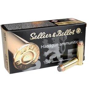 Sellier & Bellot .44 Rem. Mag. SP 240 Gr. Box of 50