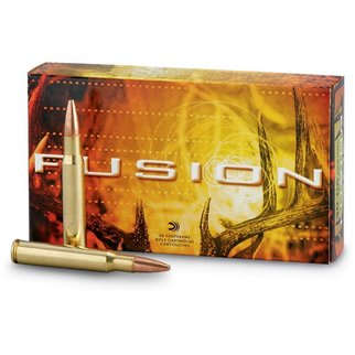 Federal Ammunition Federal Fusion 300 Winchester Magnum 180 Grain Spitzer Boat Tail Box of 20