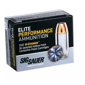 Sig Sauer Elite Performance 9mm 124 Gr. JHP Box of 20