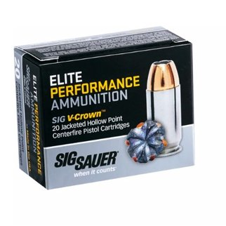 Sig Sauer Sig Sauer Elite Performance 9mm 124 Gr. JHP Box of 20