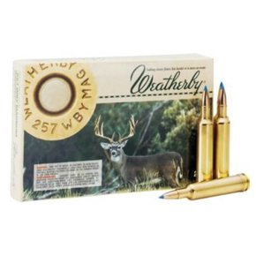 Weatherby Weatherby .257 Magnum Ultra-Velocity 100 gr. Box of 20
