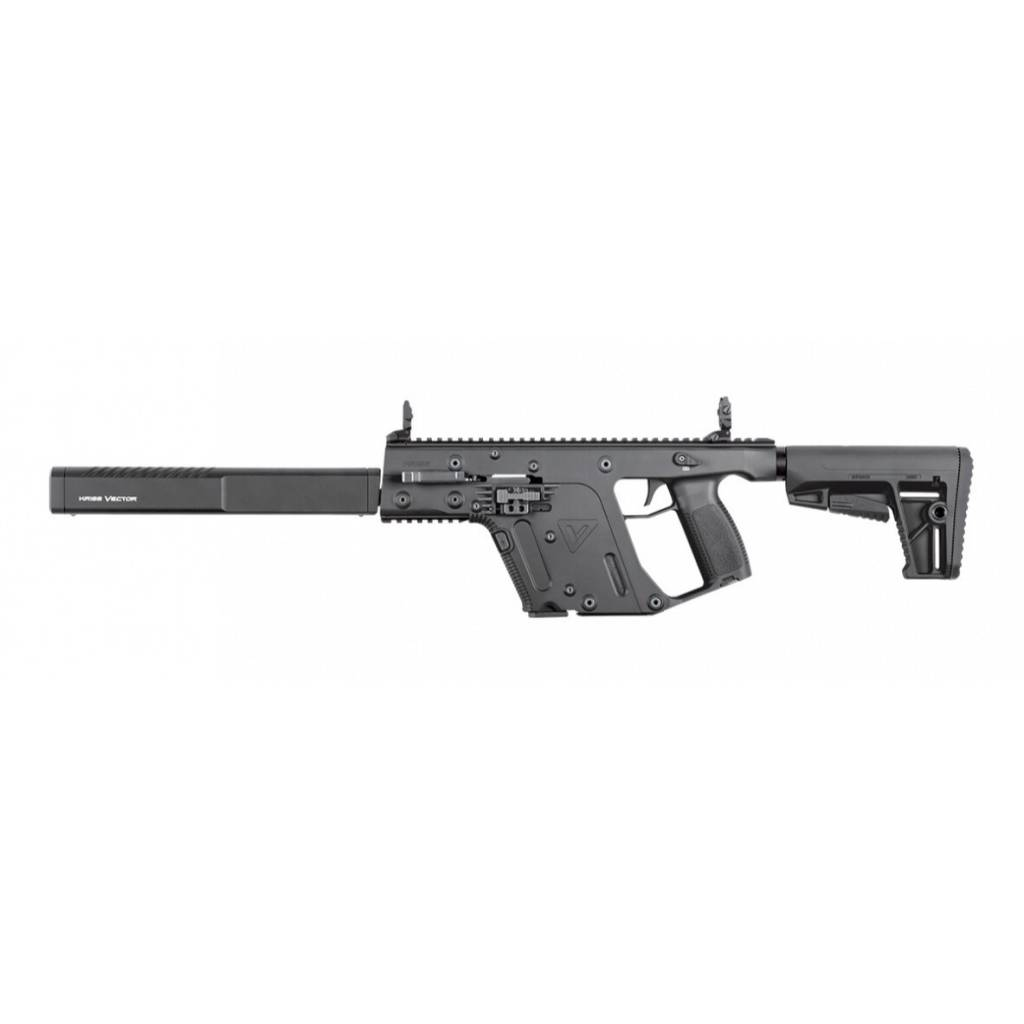 "Kriss Vector Kriss Vector Gen II CRB Enhanced 9mm, 18.5"" Black"