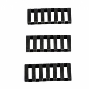 Ergo Falcon Industries Inc. Ergo Grip 7 Slot Low Profile Ladder Rail Cover 3 pack