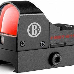 Bushnell AR Optics First Strike Reflex Red Dot Sight 5 MOA Dot with Hi-Rise Mount AR-15 Flattop Matte