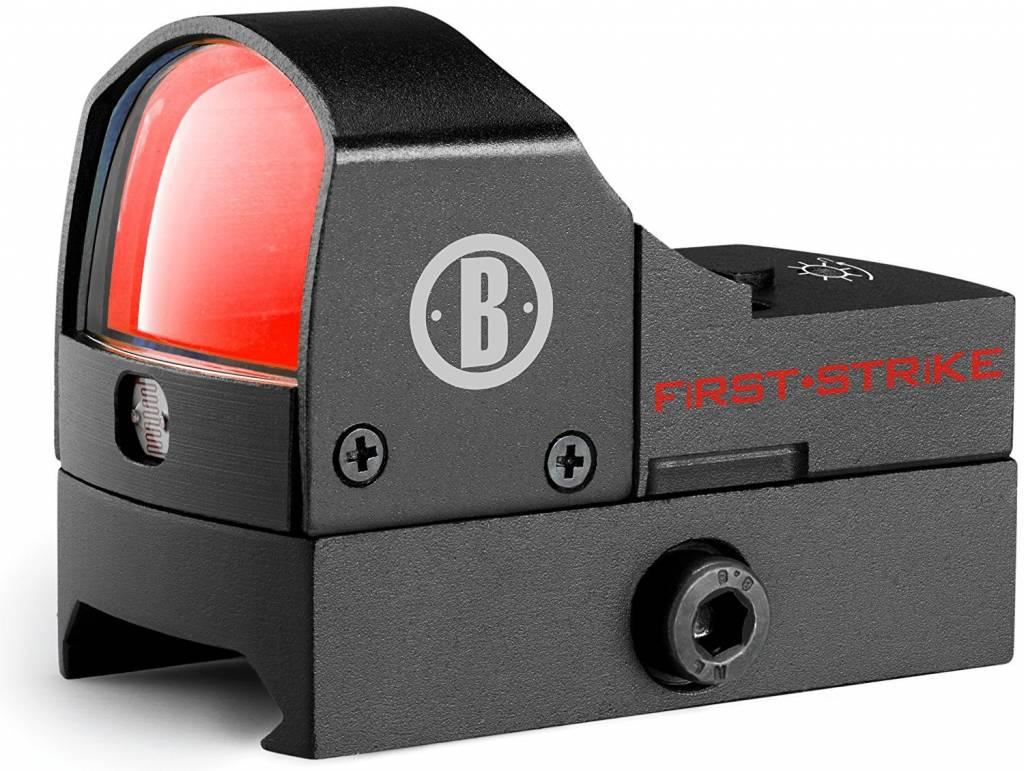 Bushnell Bushnell AR Optics First Strike Reflex Red Dot Sight 5 MOA Dot with Hi-Rise Mount AR-15 Flattop Matte