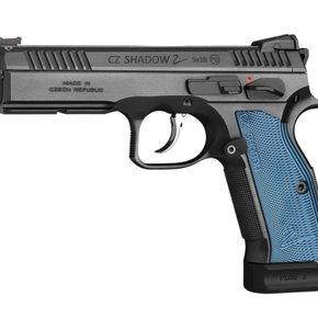 """CZ Shadow 2 Blue 9mm 5"""""""
