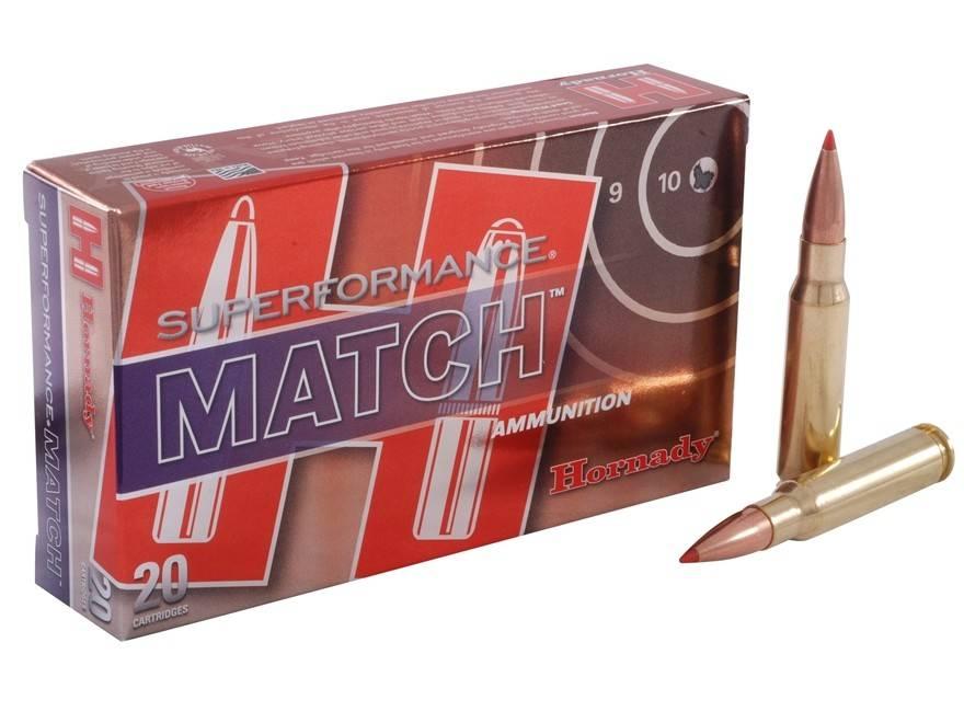 Hornady Hornady Superformance Match 308 Win 168 Grain ELD Match Box of 20