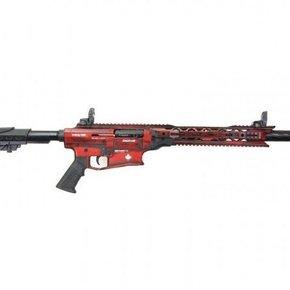 """Derya Arms MK12, Distressed Red/White Maple Leaf - 12GA, 3"""", 20"""" Barrel"""