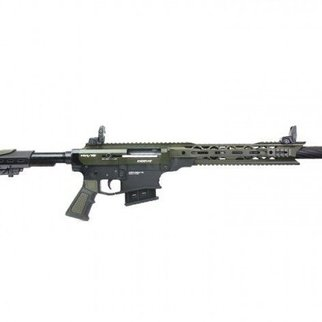 "Derya Derya Arms MK12, Green/Black - 12GA, 3"", 20"" Barrel"