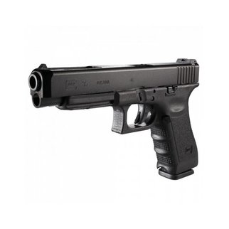 Glock Glock 35 Semi-Auto Pistol, .40 S&W, Black Finish, Adjustable Sights, 10 Round