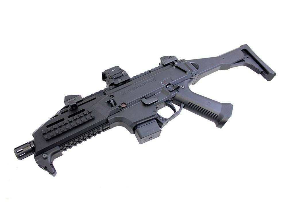 "CZ CZ Scorpion EVO 3 S1 Pistol 9mm 7.72""Commercial Variant Black"