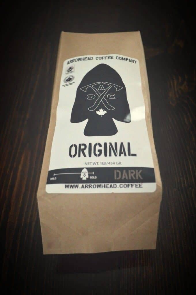 Arrowhead Coffee Arrowhead ORIGINAL BREW - FRENCH ROAST - DARK COFFEE