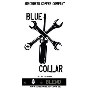 Arrowhead Coffee Arrowhead BLUE COLLAR - SOUTH AMERICAN BLEND - MEDIUM COFFEE