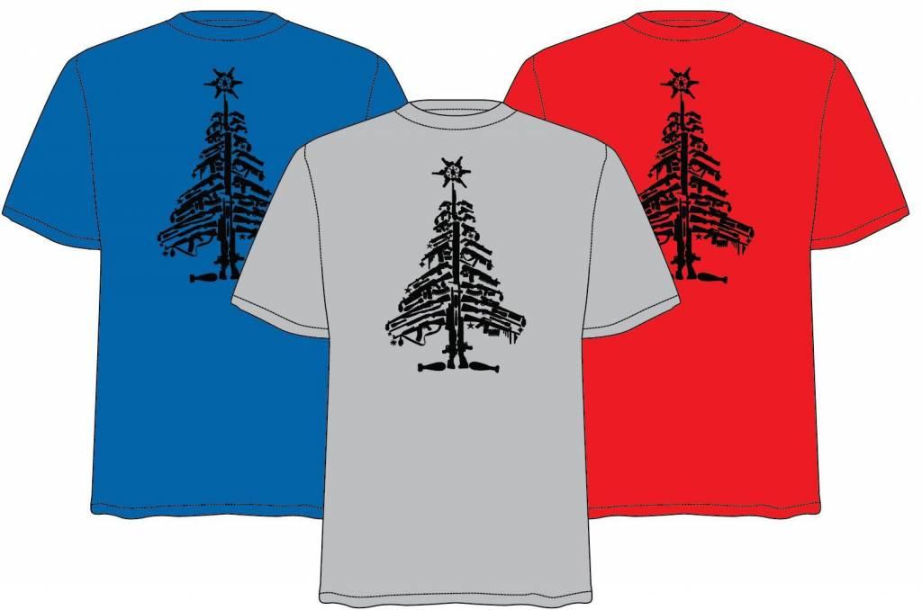 """Lanz """"Ugly"""" Christmas Tree T-Shirt"""