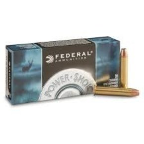 Federal Ammunition FEDERAL POWER-SHOK 45-70 GOVERNMENT 300 GRAIN ROUND NOSE SOFT POINT BOX OF 20