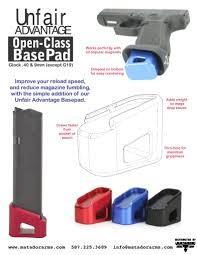 Matador Arms Corp Matador Unfair Advantage Open-Class BasePad