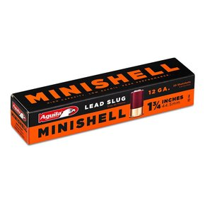 Aguila Aguila Minishell 12 Gauge 7/8 Ounce Slug Box Of 20