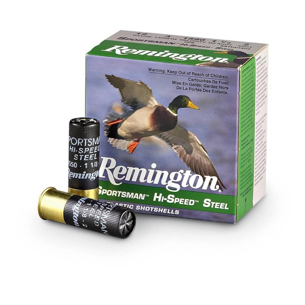 "Remington Remington 12 Gauge Sportsman Hi-Speed Steel 2 3/4"" 7 shot Box Of 25"