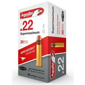 Aguila Aguila .22 Supermaximum 30 Grain 50 Per Box