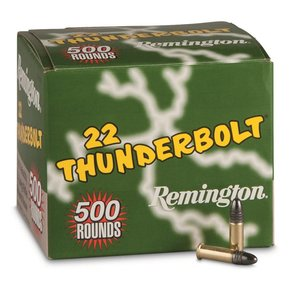 Remington Remington Thunderbolt .22 LR 40 Grain 500 Rounds