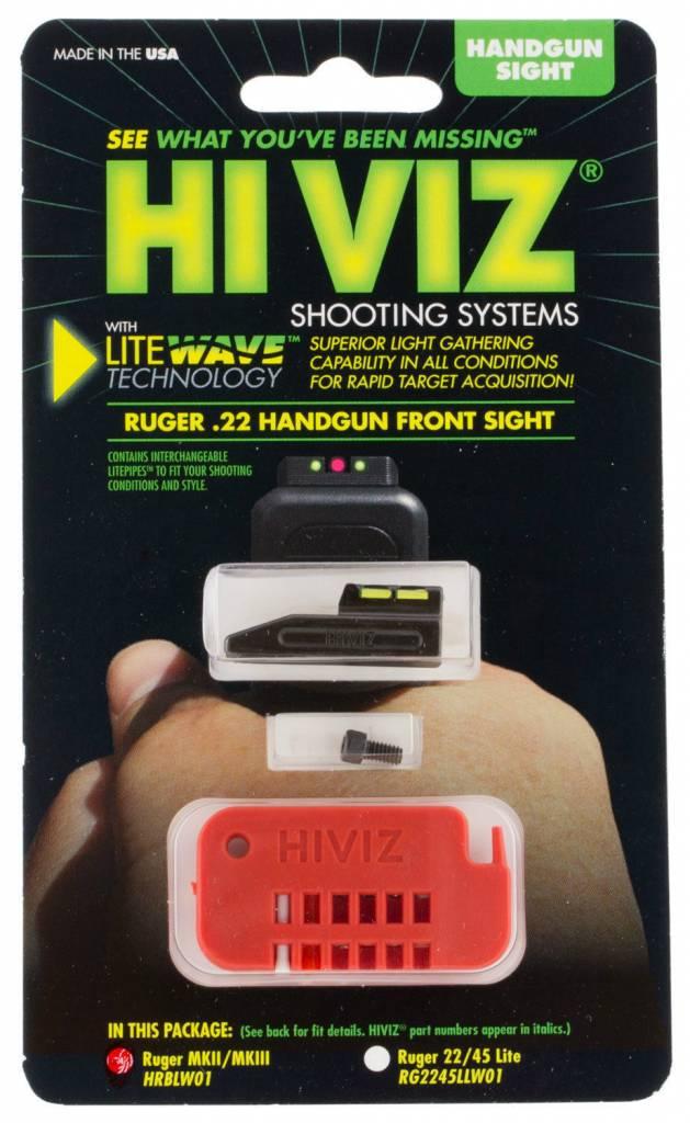 HI VIZ HI VIZ  Ruger MK I, II, III & IV LiteWave® Front Sight