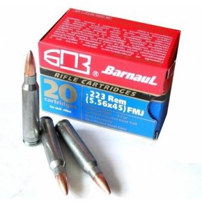 Barnaul Barnaul 223/556 62g FMJ, Box of 20