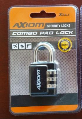 Axiom Combo Pad Lock