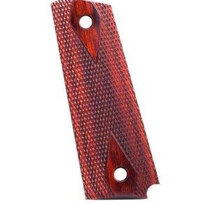 Kimber Kimber Premium Wood 1911 Diamond Grips, Rosewood