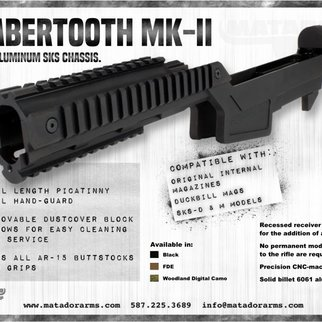 Matador Arms Corp Matador Arms Sabertooth MK-II Aluminum Chassis