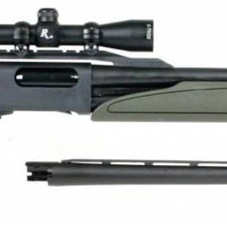 Remington Remington 12g Model 870 Express Synthetic Pump-Action Shotgun Package – 2-7x32mm Scope