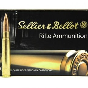 Sellier & Bellot Sellier & Bellot  8x57, 196gr, FMJ, Box of 20