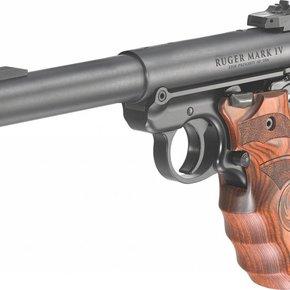 Ruger Ruger Mark IV Target Pistol Laminated Grip (MA) 22LR Blued Target