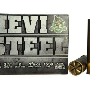 "Hevishot Hevi-Shot 12 Gauge Waterfoul 3 1/2"" #2 Steel Box Of 25"