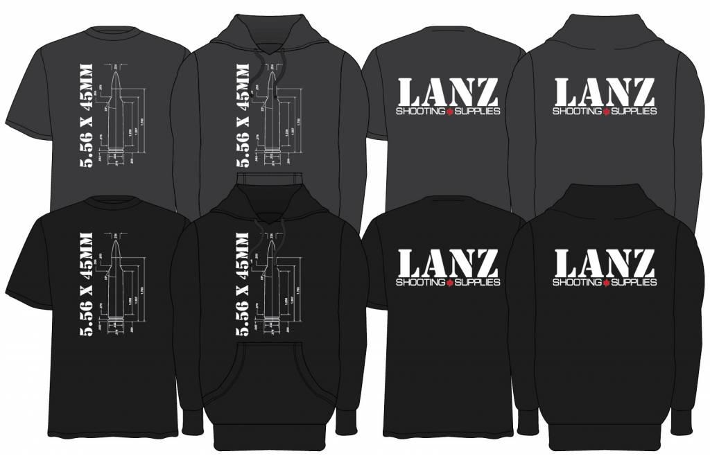 Lanz Hoodie 5.56 XL Black