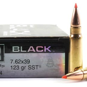 Hornady Hornady Black 7.62x39 123 GR SST Box Of 20