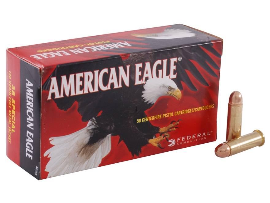 American Eagle Federal American Eagle 38 Special 130 Grain Full Metal Jacket