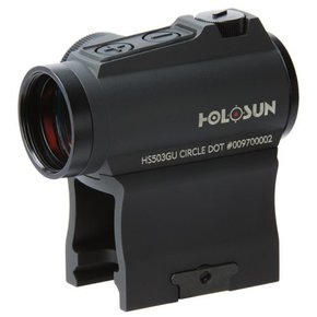 Holosun Holosun Micro Solar Circle red dot sight with industry standard mount