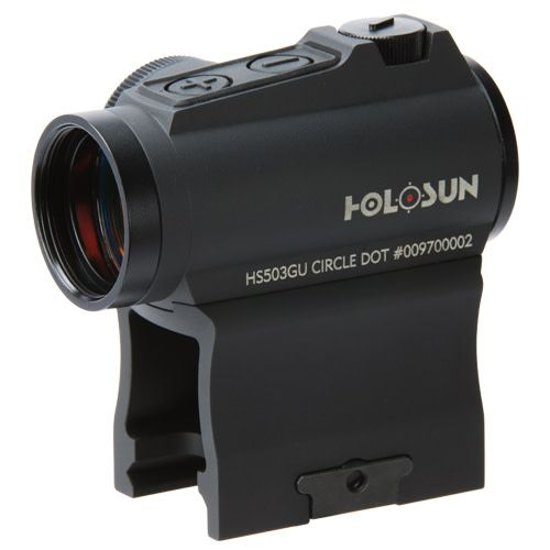 Holosun Holosun HS503GU Micro Solar Circle red dot sight with industry standard mount