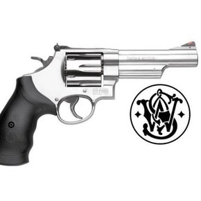 "Smith & Wesson Smith & Wesson 629 Revolver, .44 Magnum, 4.2"" Barrel, 6 Rounds, Stainless Steel"
