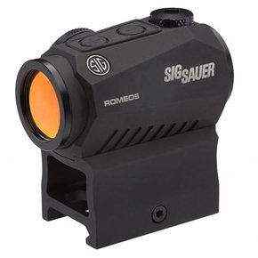 Sig Sauer Sig Sauer Romeo 5 Compact Red Dot 1x20mm 2 MOA Dot Reticle SOR52001 M1913 Mount