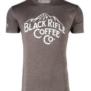 Black Rifle Coffee BRCC MOUNTAINS SHIRT- ESPRESSO - LARGE