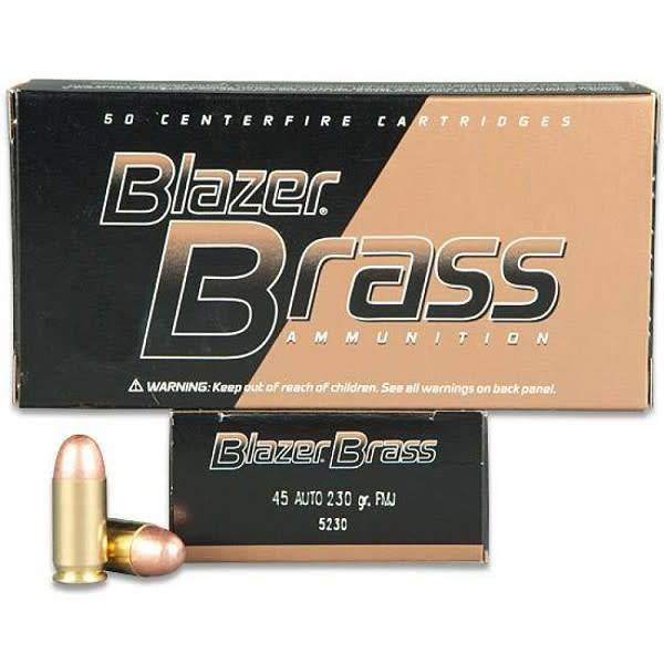 CCI 45ACP 230g FMJ Case of 1000rds