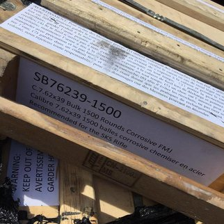 Crate 7.62x39 Surplus 1500rds (Corrosive)