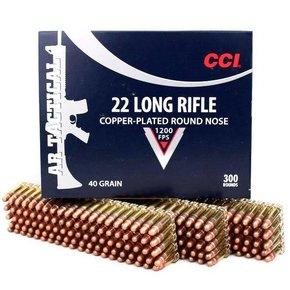 CCI CCI 22LR Tactical 40gr. 300 per box